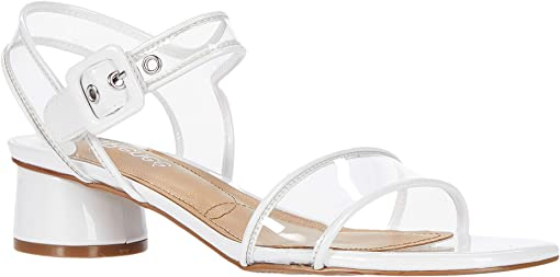 White Patent/Clear