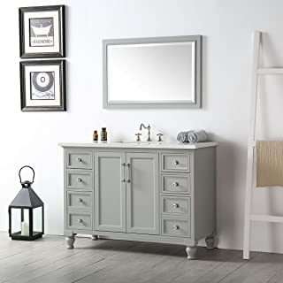 Decoraport 48 In. Bathroom Vanity Set (DK-A-6548-CG+M)