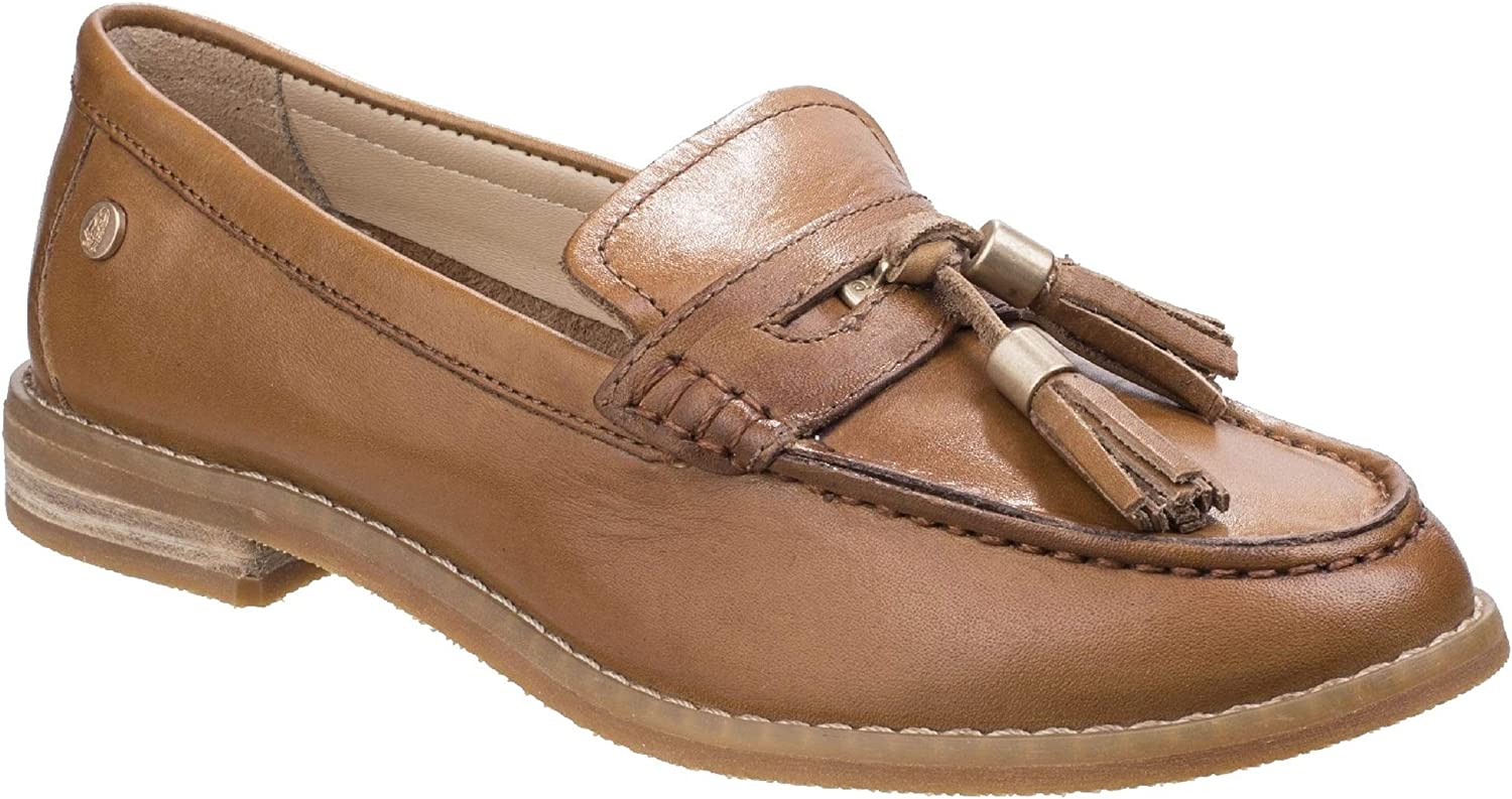 Hush Puppies Womens Ladies Chardon Penny Leather Loafers