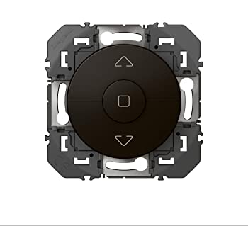 Legrand LEG95242 Inter Roul ALU dooxie Interrupteur volet-Roulant Aluminium composable