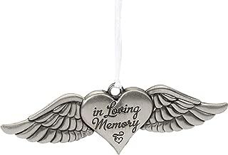 Midwest-CBK in Loving Memory Angel Wings Memorial Ornament