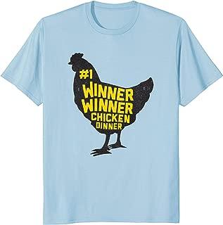 WINNER WINNER CHICKEN DINNER Men's T-Shirt Gamer