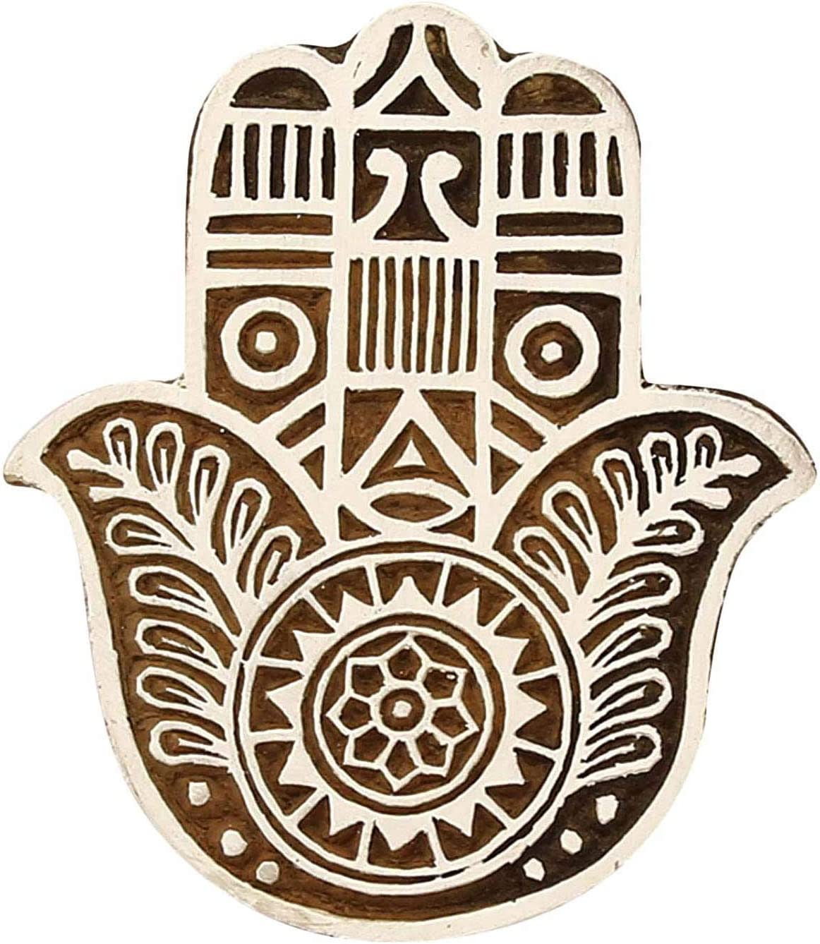 Sharvgun High material Excellent Indian Textiles Hand Carved Wooden Printing Bloc Stamps