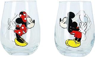 Disney Mickey y Minnie Mouse - Copas de vino