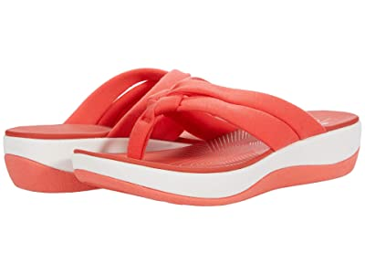 Clarks Arla Kaylie (Bright Coral Textile) Women