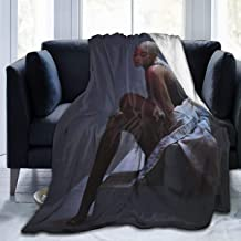"Jinfugongmao A_G Ultra-Soft Micro Fleece Blanket Super Soft Plush Fuzzy Bed Throw Microfiber Holiday Winter Cabin Warm Blankets 50""x40"""