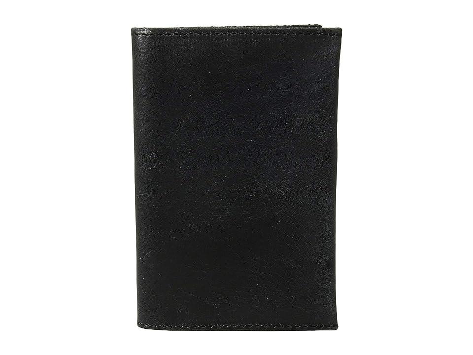 ABLE Alem Passport Wallet (Black) Handbags