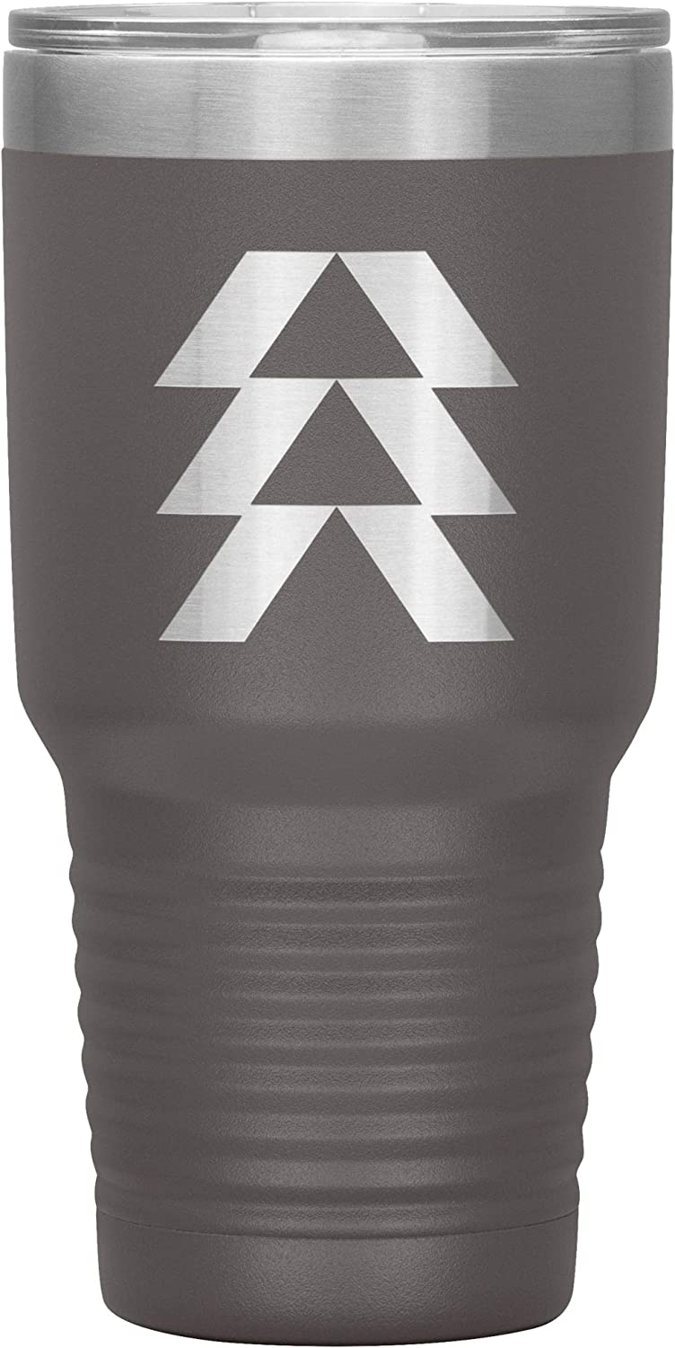 Destiny Hunter Logo 30oz Insulated Max 84% OFF for Lid Max 74% OFF Tumbler with