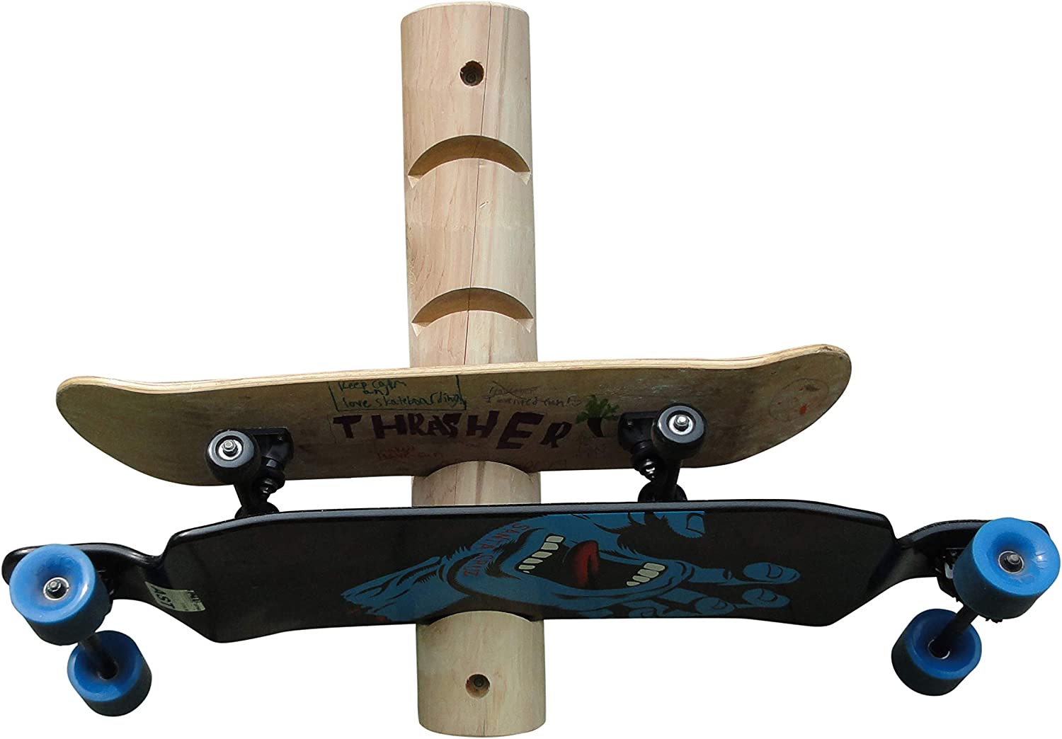 5 Max 67% OFF Place Longboard Skateboard Rack overseas and