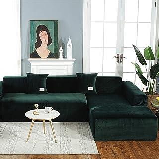 Sofaschoner PENGMAI Stretch-Sofabezug f/ür 1//2//3//4-Sitzer einfach anzubringen Couch elastischer Stoff dicker Sofaschonbezug Haustierschutz Samt
