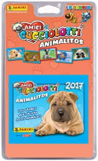 Panini 003217blie Amici Cucciolotti Trading Cards Assorted Pack of 10 P 'Tits Animals