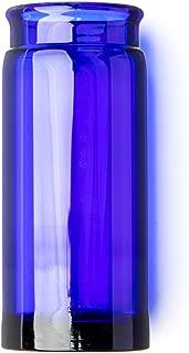 Dunlop 278BLU Blues Bottle Slide, Blue, Heavy Wall Thickness, Large