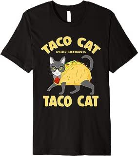 Taco & Cat Tacocat Spelled Backwards T-Shirt