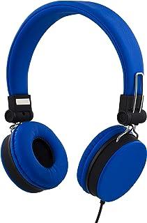 STREETZ 1,5 m headset med mikrofon för smartphone – blå
