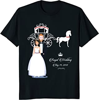 Royal Wedding of Meghan Markle and Prince Harry T-Shirt Gift