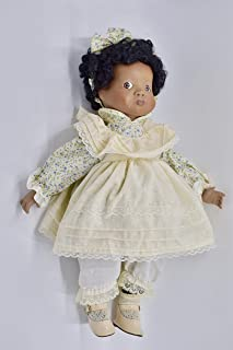1992 - Victoria Impel Corp - African-American Baby Doll - 16 Inches - Porcelain - 1 of 2400 - Collectible - Rare