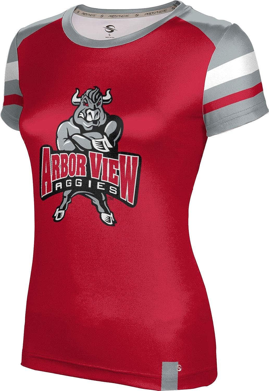 ProSphere Arbor View High School Girls' Performance T-Shirt (Old School)