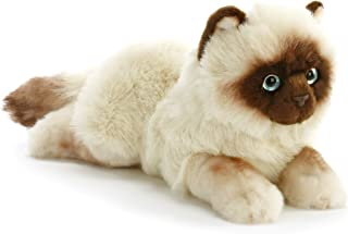 Nat and Jules Lounging Large Siamese Cat Children's Plush Stuffed Animal Toy