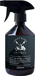 Ski Wax Spray by SWIFTGLIDE I 250 ml I Ski board Maintenance tool to prevent dryness I Ensure excellent performance and maximum skiing fun I Alternative to Wax wipes and Rub on Wax