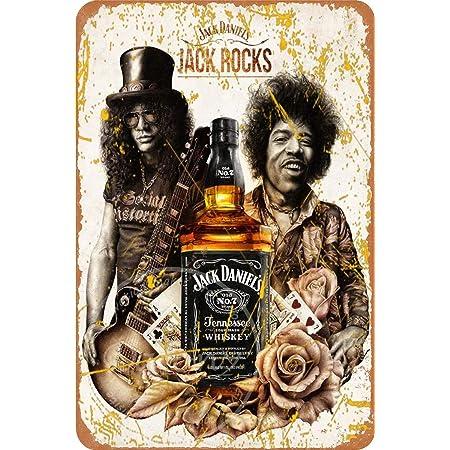 Cafe Plaque Vintage Garage Bar /& Man Cave JACK DANIELS Rustic Metal Tin Sign