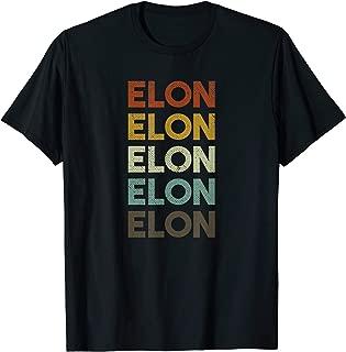 Retro Elon North Carolina T-Shirt