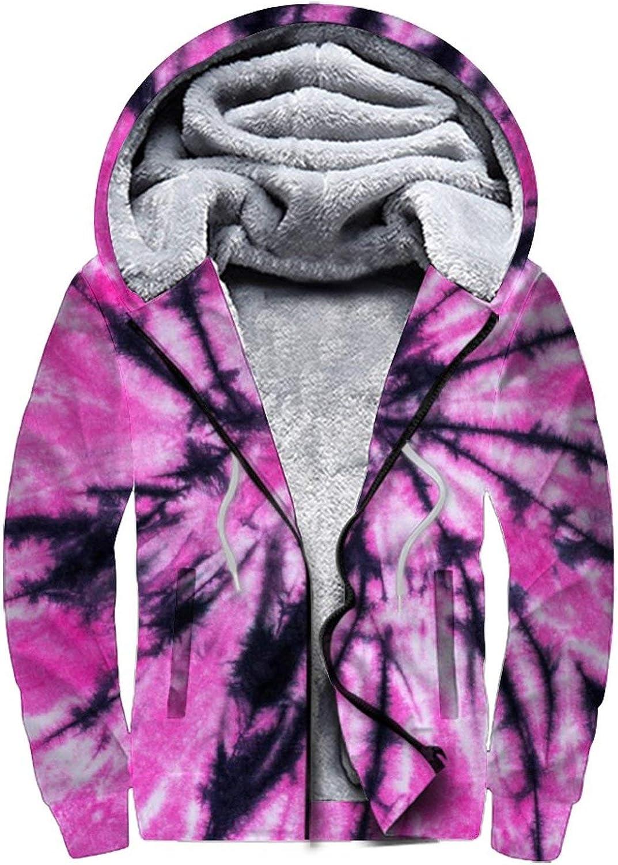 Men'S Fleece Hoodie Pullover Rapid rise Credence Winter War Full Workout Zip Jackets