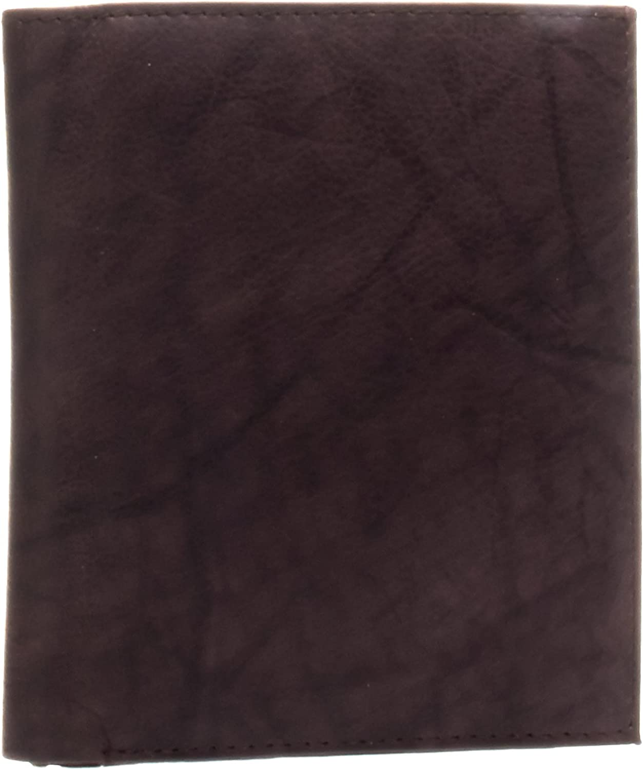 Bacci Men's Hipster Genuine Leather Bifold Wallet