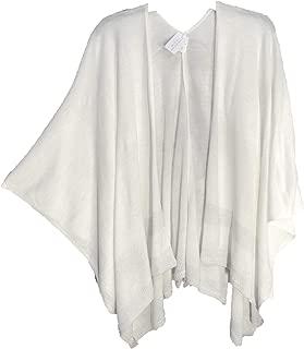 Kimono Kaftan Poncho Cape Cardigan Jacket Sweater WRAP TOP Womens Plus~ONE Size, OS,1X, 2X, 3X
