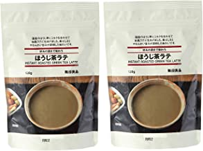 MUJI INSTANT ROASTED GREEN TEA LATTE x 2 Packs