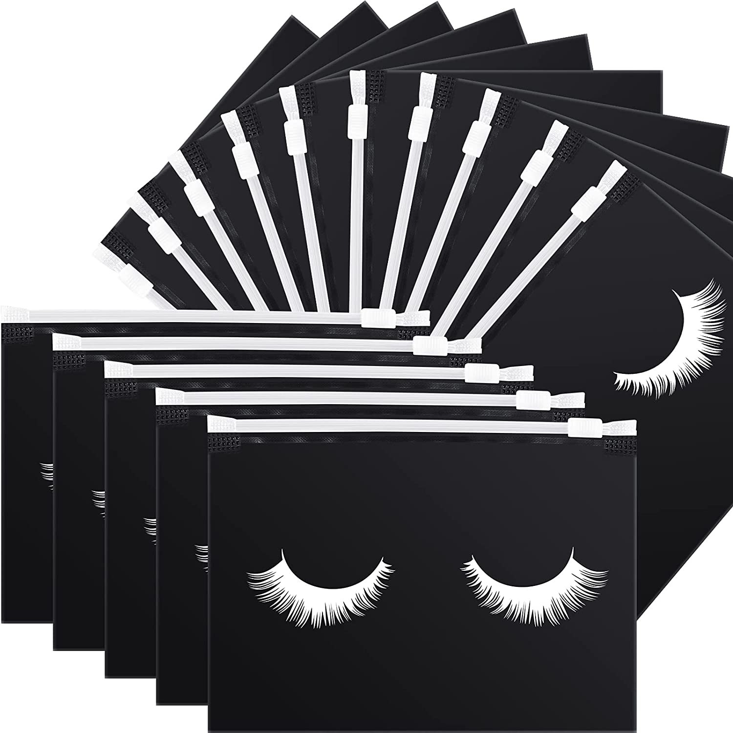 Max 72% OFF 50 Pieces Translated Eyelash Aftercare Bags Cosmetic Makeup Ba