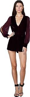 7b974d3b2733 Adelyn Rae Women s Francine Velvet Romper