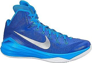 Nike Women's Hyperdunk 2014 TB Basketball Shoes 11 Royal, Silver Metallic, Blue