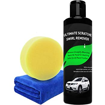 Randalfy Car Scratch Remover - Magic Car Scratch Remover, Scratch Removal for Cars with Polish & Paint Restorer Abrasive Compound, Swirl Remover, Water Spots, Light Scratch Removal for Cars