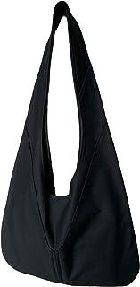 着るポケットショルダーバッグ【 KUROKOくろこ】ブラック/オリジナルプリント&ハンドメイド少数販売品