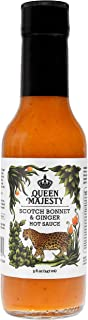 Queen Majesty Hot Sauce, Sauce Hot Scotch Bonnet Ginger, 5 Fl Oz