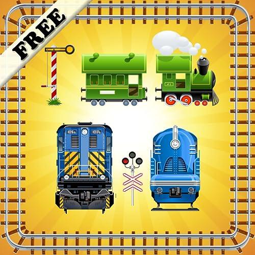 Puzzles von Spielzeugeisenbahnen für Kleinkinder und Kinder ! KOSTENLOS