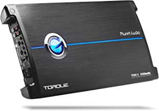 Planet Audio TR5000.1D Class D Car Amplifier - 5000 Watts, 1 Ohm Stable, Digital, Monoblock, Mosfet Power Supply, Great for Subwoofers
