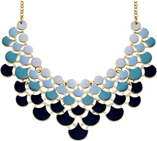 Best statement geometric bib necklace Reviews