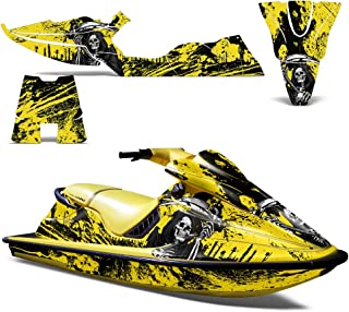 SeaDoo XP 1994-1996 Decal Graphic Kit Jet Ski Wrap Jetski Decal Sea Doo DecoREAPER YELLOW