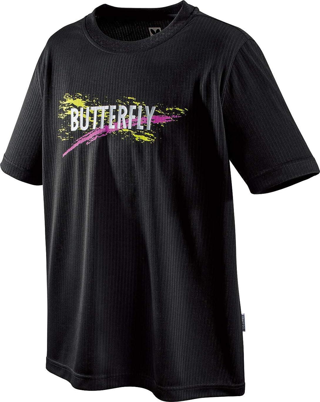 匿名粒子後世バタフライ(Butterfly) 卓球 半袖ウェア マニクルス?Tシャツ 男女兼用 45500