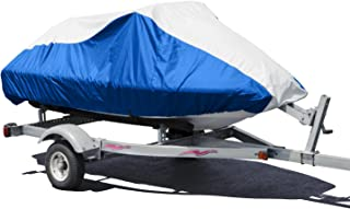 """Budge Deluxe Jet Ski Cover Fits Jet Skis 109"""" to 120"""" Long, Blue/Gray (BA231213014)"""