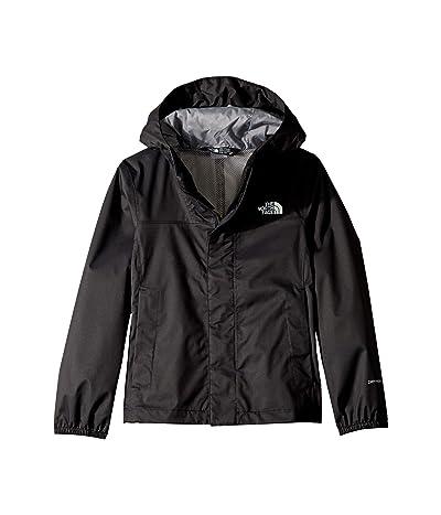 The North Face Kids Resolve Reflective Jacket (Little Kids/Big Kids) (TNF Black) Girl