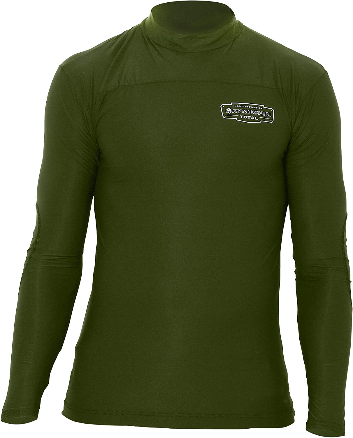 Challenge the lowest price of Japan ☆ Rynoskin Free shipping on posting reviews Total Shirt HS0212X Green 2XL