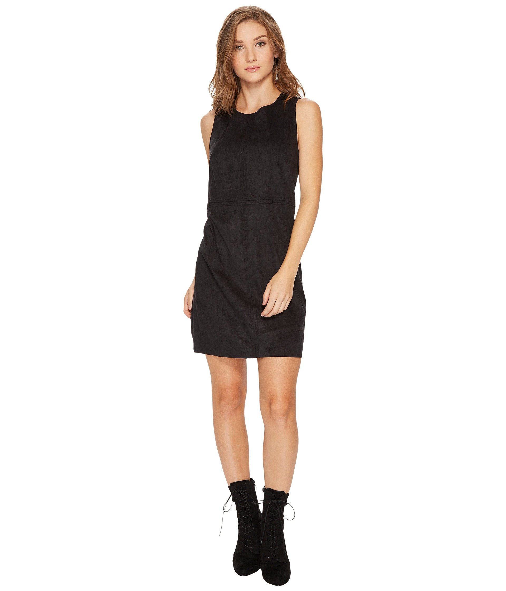 Stretch Suede Dress KS0U7137