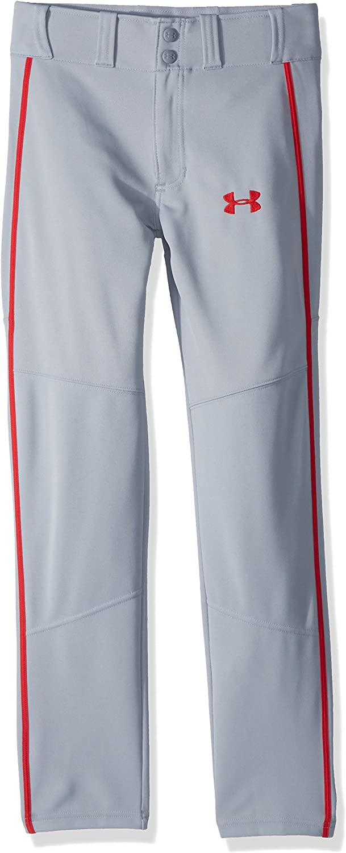 Under Armour Pantalon de Baseball Chauffant passepoil/é pour gar/çon