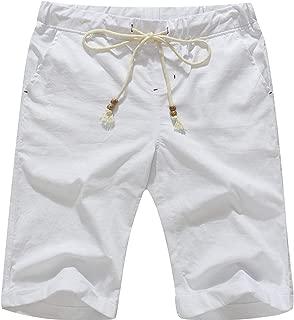 Best slim fit linen shorts Reviews