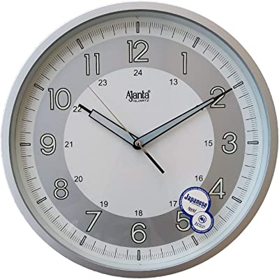 b07837fb8 Buy eCraftIndia Decorative Analog Diamond Series Plastic Wall Clock ...