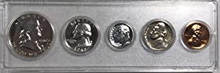 1962 P Silver US Proof Set Beautiful comes in hard plastic case Proof