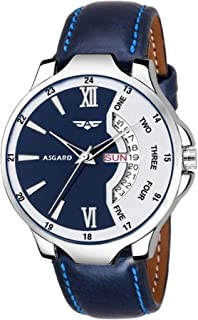 ASGARD Analog Men's & Boy's Watch (Multicolored Dial, Blue Colored Strap)