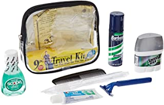 Convenience Kits Men's Clear Deluxe Travel Bag